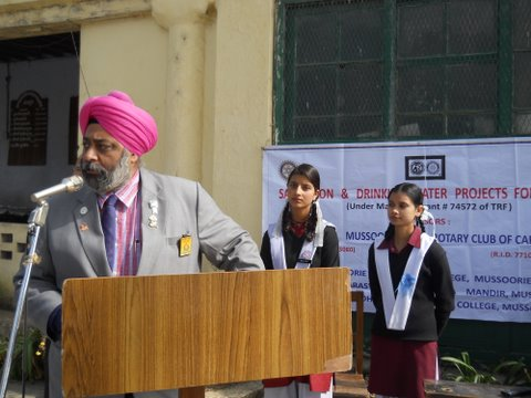 Mussoorie-Water-Project-Speech